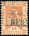 Switzerland Bern 1881 revenue 10c - 24aB 5-K.jpg