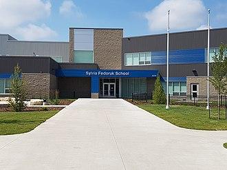 Evergreen, Saskatoon - Image: Sylvia Fedoruk School (Saskatoon)