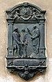 T. Kosciuszko memorial plaque (A. Daun, 1896), Annunciation of the Blessed Virgin Mary Church, 11 Loretanska street, Piasek, Krakow, Poland.jpg