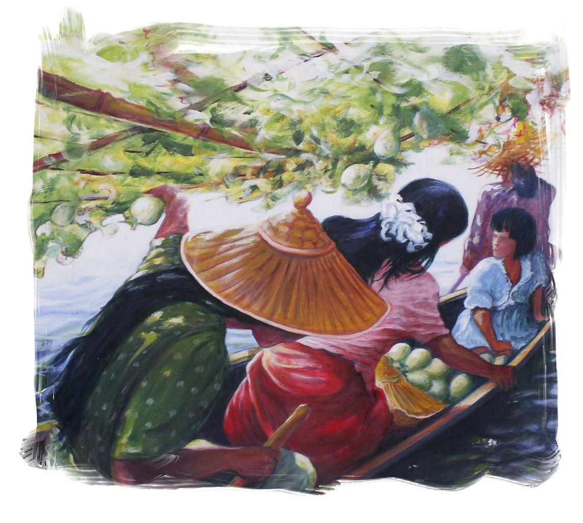 File tableau jardins suspendus s lectionn au salon des for Artistes de jardin