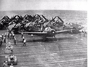 VFA-25 - Image: TBM 3E VT 17 CV 12 1945
