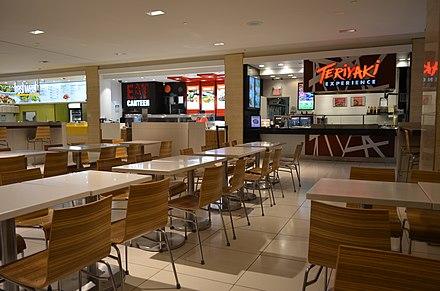 Td Centre Food Court Map