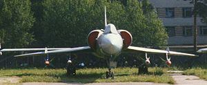 Tupolev Tu-28 - Tu-128 prototype at Central Air Force Museum, Monino, Russia