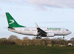 Turkmenistan Airlines - Turkmenistan Airlines Boeing 737-700