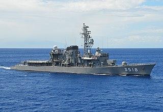 JS <i>Setoyuki</i> Hatsuyuki-class destroyer