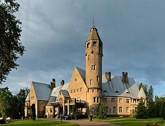 Valga County - The main building of Taagepera Manor (built in 1907-1912)