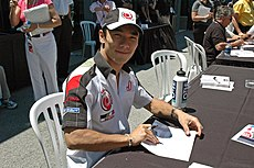 Sato at the 2005 United States Grand Prix