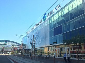 Talking Stick Resort Arena - North Entrance of venue (c.2015)