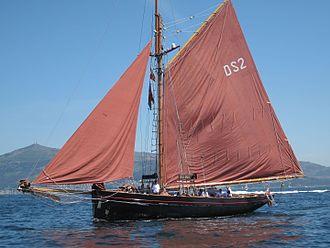 Jolie Brise - Image: Tall Ships Atlantic Challenge, Jolie Brise, Vigo
