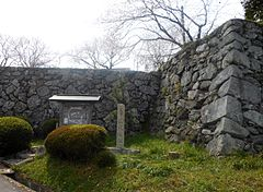 Tamaru Castle Site in Spring 2013.jpg