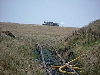 British military narrow-gauge railways - Image: Tank Range at Redesdale geograph.org.uk 1476671
