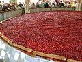 Tarte aux fraises de 8 m de diamètre de Beaulieu sur Dordogne, France 3.JPG