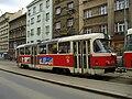 Tatra T3 u zastávky Krymská (2).jpg