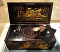 Tea caddy, Chinese, with caddy spoon by Elizabeth Morley - Indianapolis Museum of Art - DSC00634.JPG