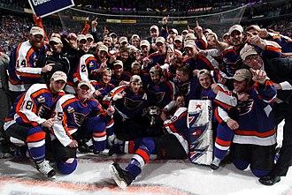 Philadelphia Phantoms - the 2004-05 Phantoms with the Calder Cup