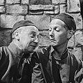 Televisiespel De opgeschreven man , links Frits van Dijk rechts Herbert Joeks, Bestanddeelnr 910-6773.jpg