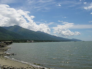 Palu City in Central Sulawesi, Indonesia