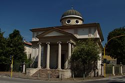 Saint Lucius Church in Moncucco