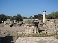 Tempio di Zeus Olimpia April 2006.jpg