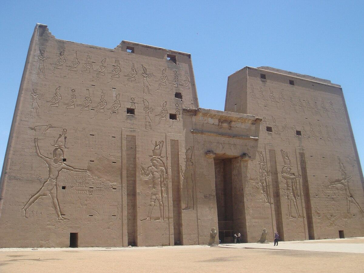 Pianta Architettura Definizione : Pilone architettura egizia wikipedia