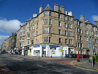 Bruntsfield - Tenements in Bruntsfield
