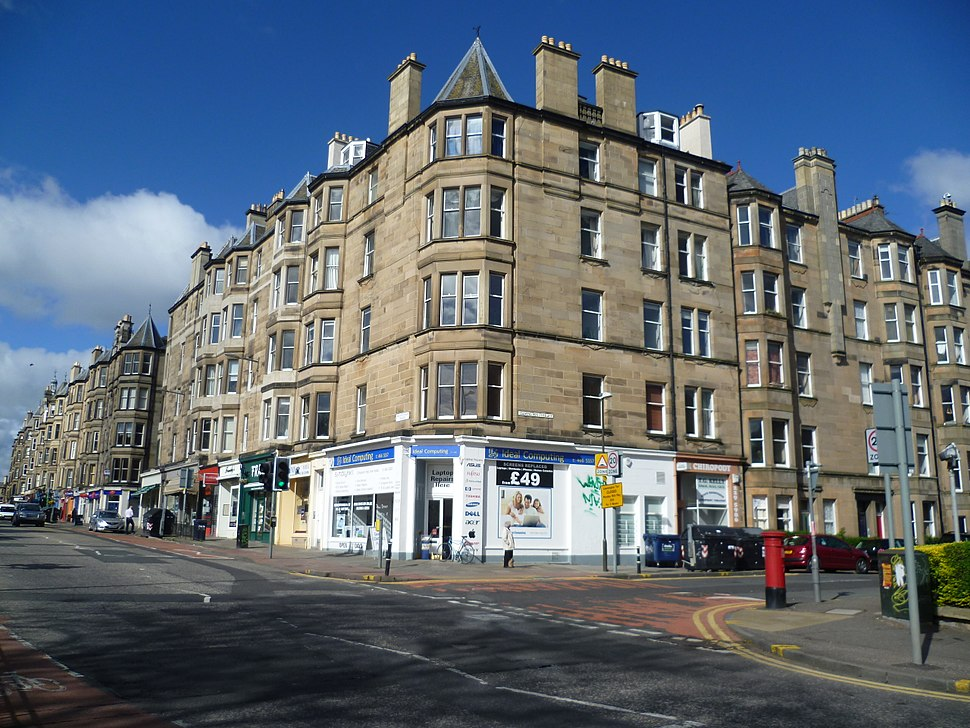 Tenements in Bruntsfield, Edinburgh