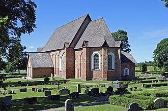 Tensta Church - Tensta Church, external view