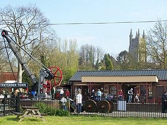 Tenterden - Image: Tenterden Railway Station geograph.org.uk 1005659