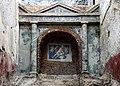 Terme di porta marina, ninfeo con mosaico di marte 01.jpg