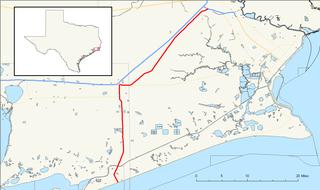 Texas State Highway 124 highway in Texas