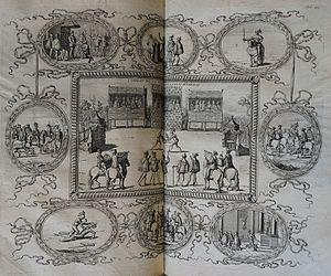 Marcus Vulson de la Colombière - Le vray theatre d'honneur et de chevalerie...(1648)