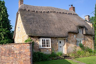 Thatching - Thatched roof, England