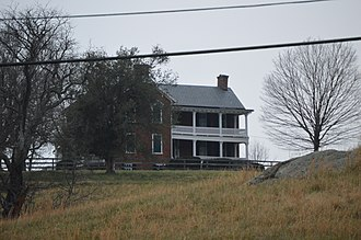 National Register of Historic Places listings in Albemarle County, Virginia - Image: The Anchorage near Charlottesville