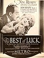 The Best of Luck (1920) - Ad 2.jpg