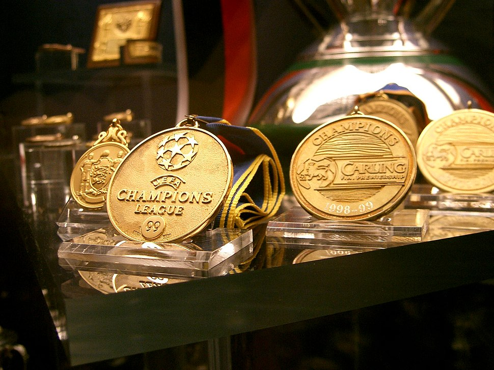The Champions League Winners Medal (Manchester United Museum) (262769292)