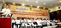 The Chief Minister of Andhra Pradesh, Shri N. Chandrababu Naidu addressing at the 'National Meeting of Tribal Women Gram Panchayat Presidents from Fifth Schedule Areas', at Vijayawada, Andhra Pradesh.jpg