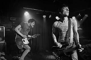 The Cribs English indie rock band