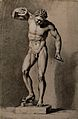 The Dancing Faun. Pencil drawing by R. Earlom. Wellcome V0049016.jpg