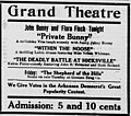The Deadly Battle at Hicksville 1914 ad.jpg