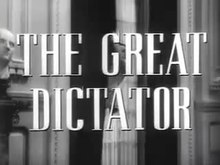 File:The Great Dictator trailer (1940).webm