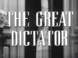 Fichier:The Great Dictator trailer (1940).webm