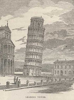 The Innocents Abroad - Illustration: Leaning Tower
