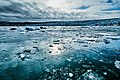 The Last Light Reflecting In The Glacier Lagoon (234161531).jpeg