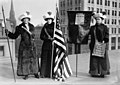 The Library of Congress - (Suffragettes with flag) (LOC).jpg