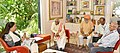 The Minister of State for Labour and Employment (Independent Charge), Shri Bandaru Dattatreya meeting the Chief Minister of Rajasthan, Smt. Vasundhara Raje Scindia, in Jaipur.jpg