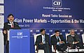 """The Minister of State for Power, Shri Bharatsinh Solanki addressing the inaugural session on """"Indian Power Markets – Opportunities & the Way Forward"""", in New Delhi on December 14, 2010.jpg"""
