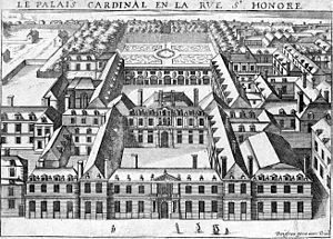 Palais-Royal - The Palais-Cardinal, circa 1641