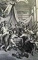 The Phillip Medhurst Picture Torah 254. Jacob blesses his sons. Genesis cap 49 vv 1-28. Hoet.jpg