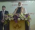 The Prime Minister, Shri Narendra Modi addressing at the Banaras Hindu University, at Varanasi, Uttar Pradesh on December 22, 2016.jpg