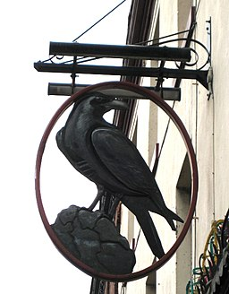 The Raven pub sign - geograph.org.uk - 1200115
